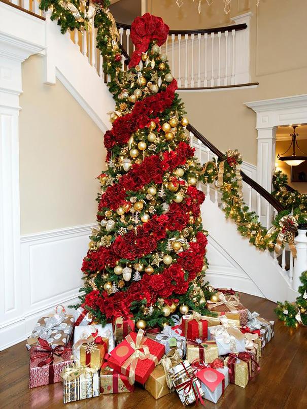 ideas-decoracion-arbol-navidad-flores (11)