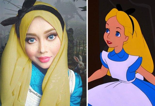 princesas-disney-maquillaje-hijab-saraswati (11)