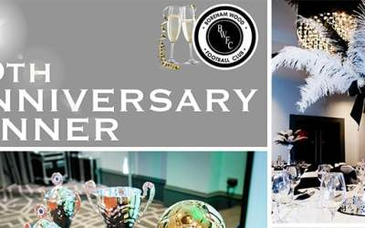 70TH ANNIVERSARY DINNER – ALREADYA SELL-OUT