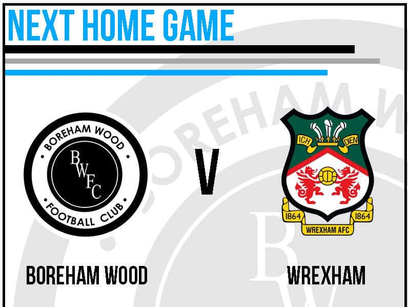 TICKETS FOR OUR OPENING HOME GAME AGAINST WREXHAM – ON SALE NOW