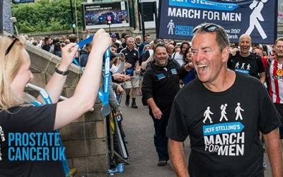 MARATHON MAN STELLING TO TAKE ON FOUR NATION MARCH FOR MEN FOR PROSTATE CANCER UK