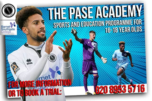 BW PASE ACADEMY TRIALS