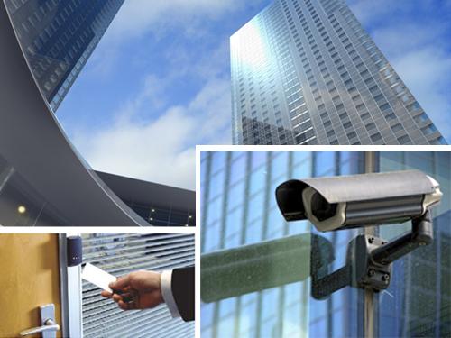 сигурност на търговски център и бизнес сграда