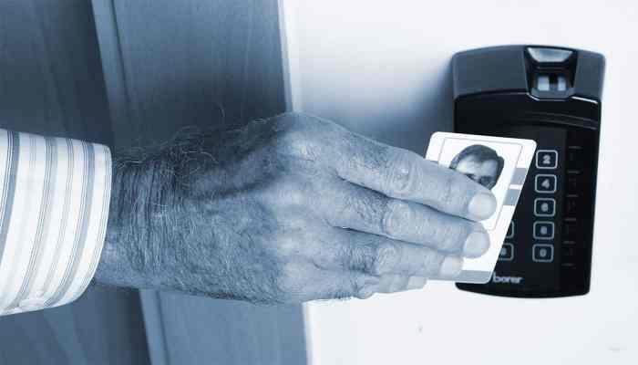 Borer Smart Card Fingerprint Reader