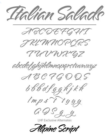 Charles Borges typeface