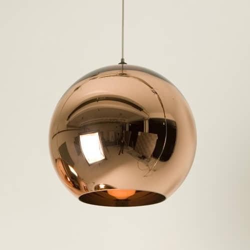 Lámpara de techo Huga Cobriza
