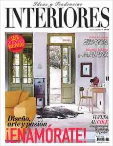 """Portada de """"Interiores"""" nº 192"""