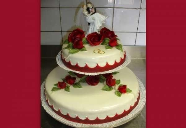 bruidstaart 2 hoog