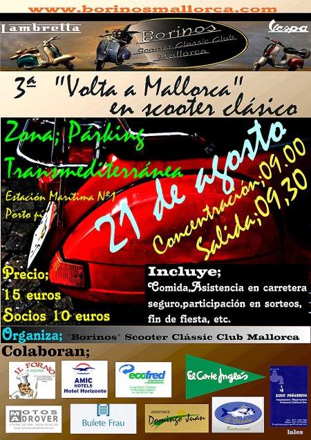 Cartell III Vuelta a Mallorca