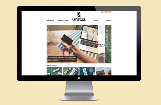 Uniross-website