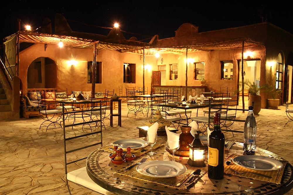 Maison Dhtes Aux Portes Du Dsert Marocain Oasis De Icht