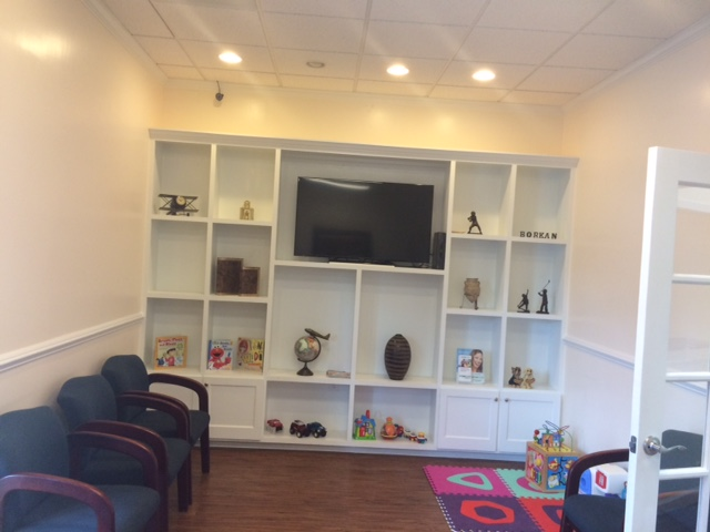 Waiting Room and Kids Corner