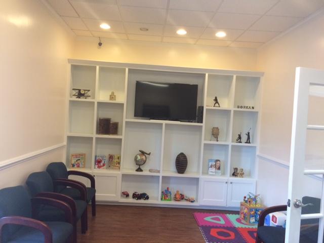 Waiting Room and Kids Corner