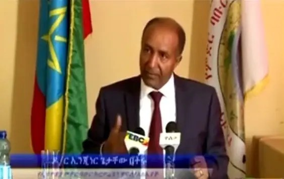 Ethiopian Railway Corporation manager Dr Getachew Betru