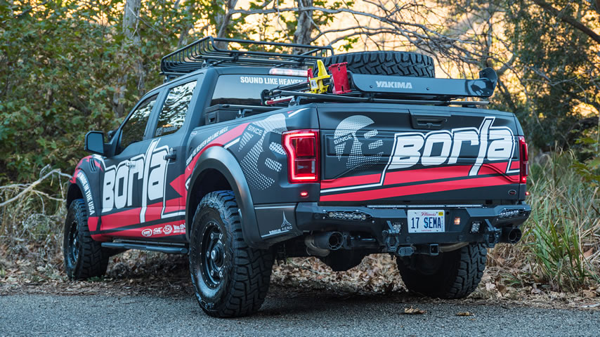 ford f 150 raptor connecting pipe