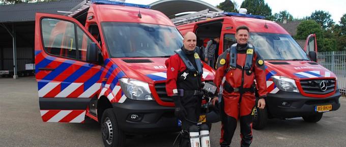 Duikteam Brandweer Twente in het nieuw