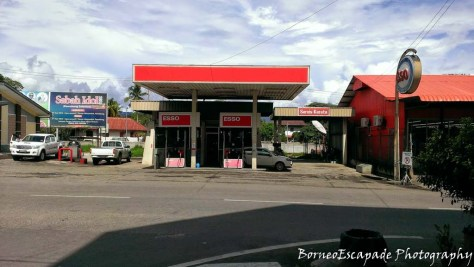 Esso Petrol Station. I thought they are supposed to change their name to Petron?