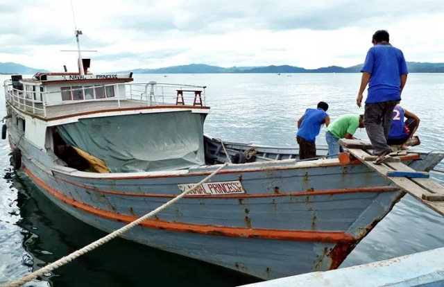 The smaller ports in southern Phillipines are best suited for the wooden type cargo boats, and also there is that security risk for Malaysian-flagged ships in the region.