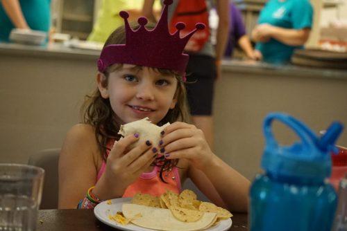 MDA Camp Food Smiles
