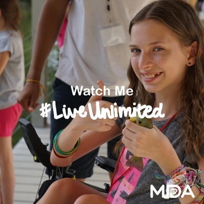 Your LiveUnlimited MDA Camp