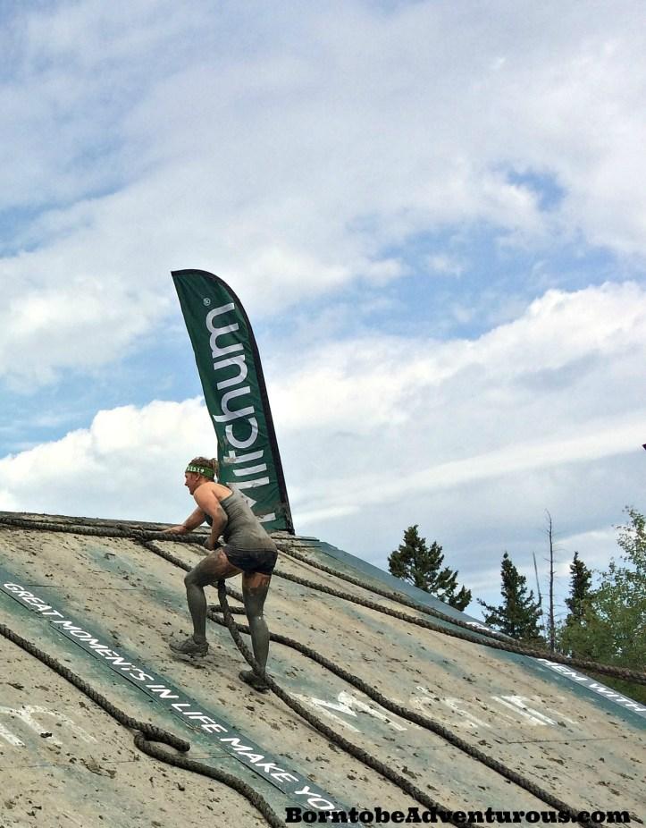 Mud hero Climb