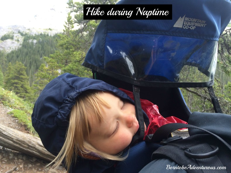 Sleeping while hiking