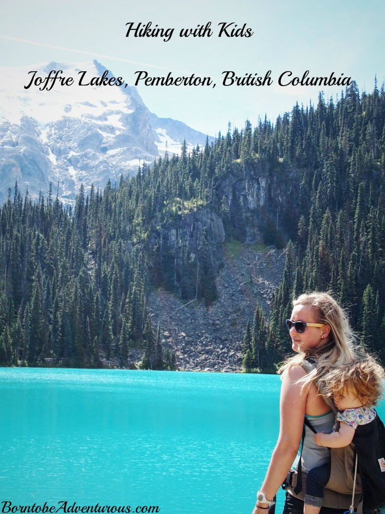 Hiking with Kids Joffre Lakes