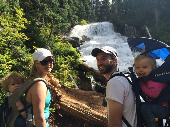 Joffre Lakes Waterfall