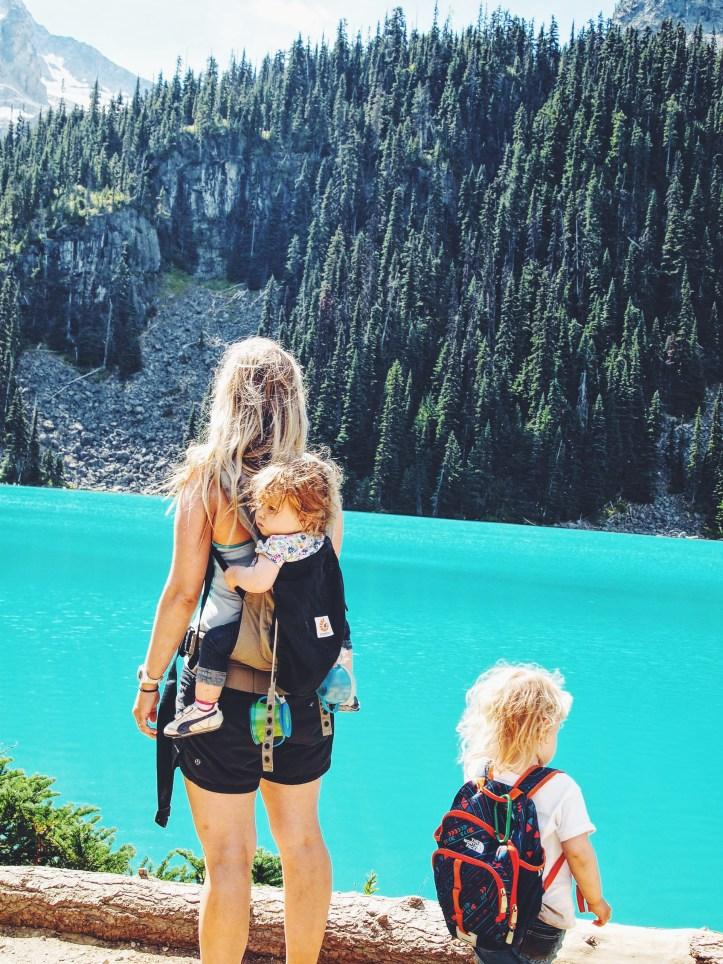 Joffre Lakes second lake