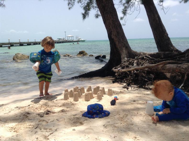 beach kids tips