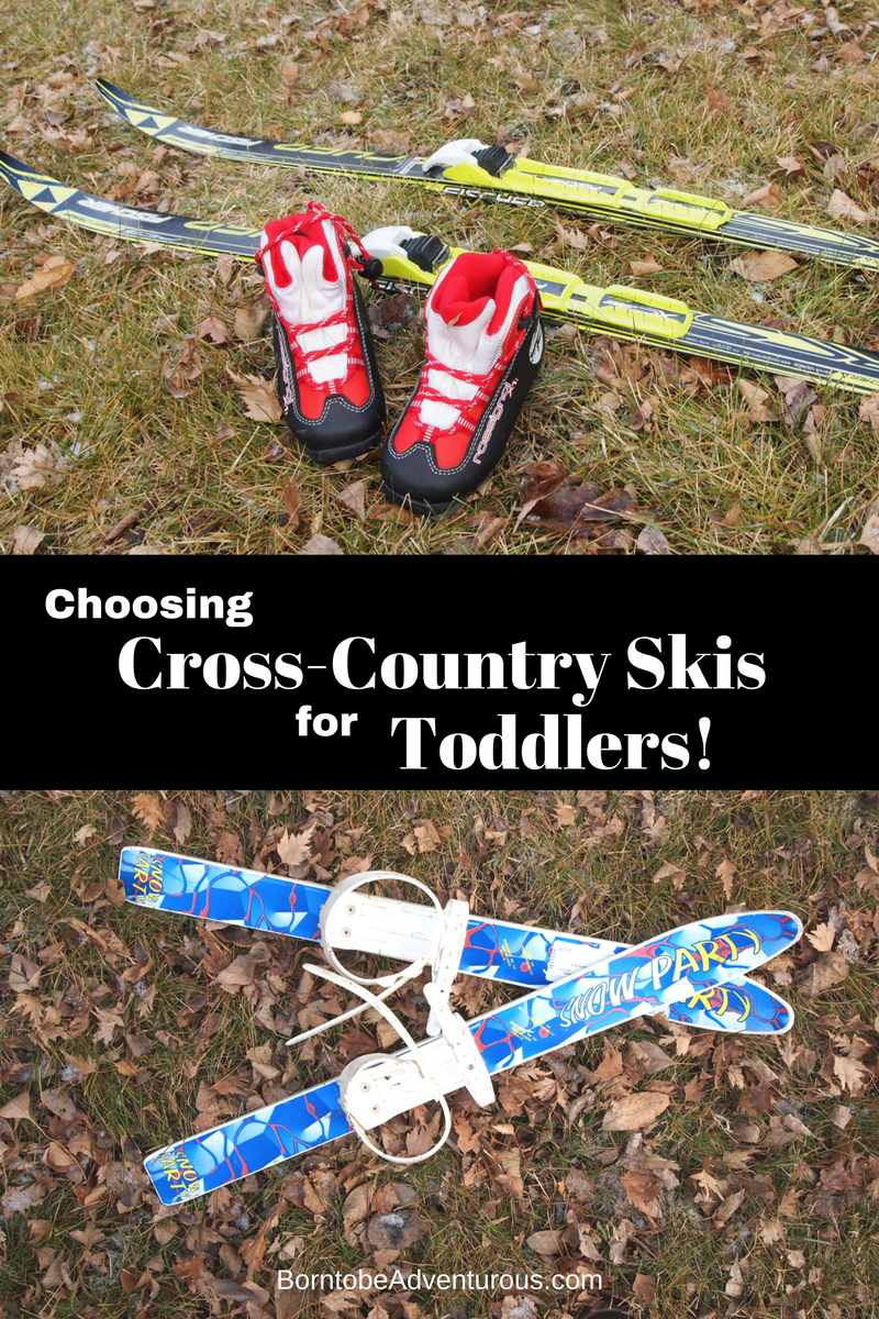 Choosing Cross-Country Skis for Toddlers