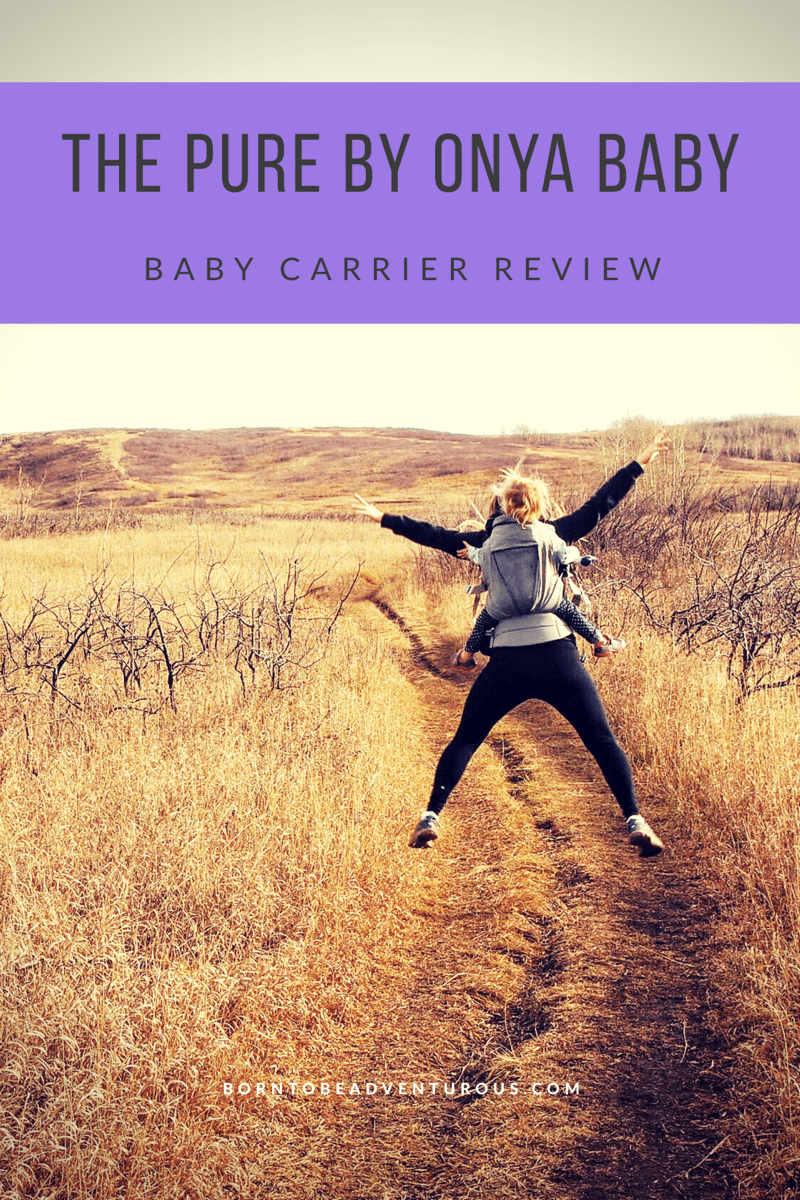 The Pure Onya Baby Carrier Review