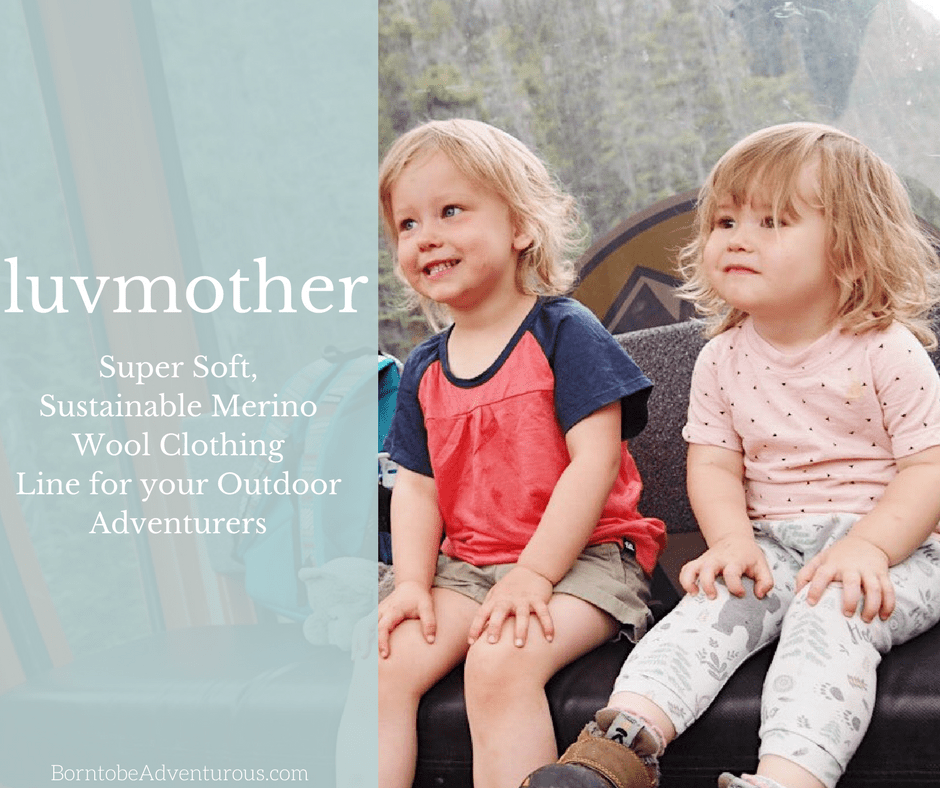 luvmother: sustainable merino wool kid's clothing line