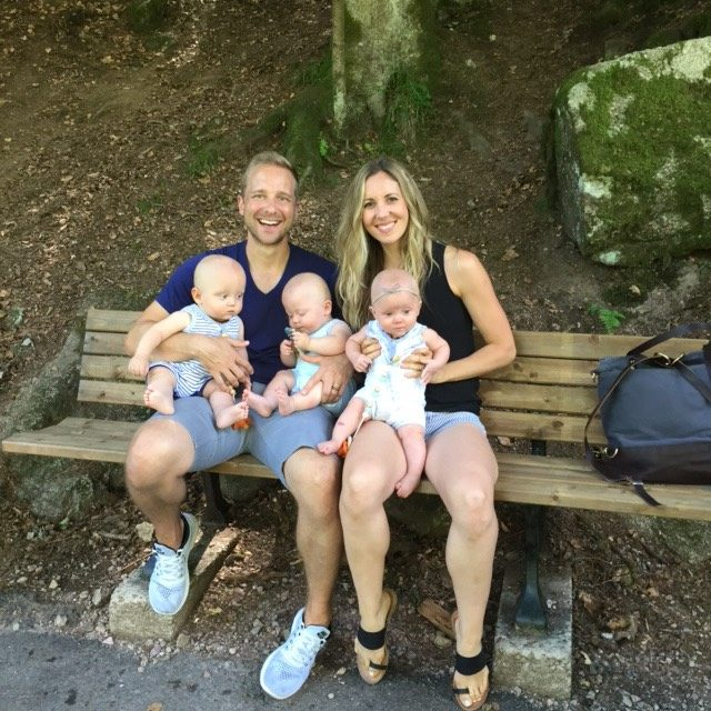 Travelling with Triplets : Interview with triplet mom Kimberly Gibas