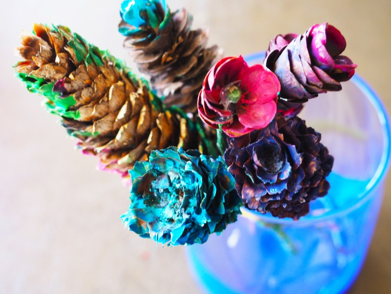 Pinecone Craft Flower