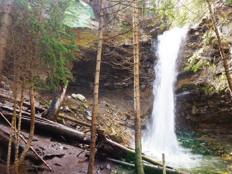 Easy Hikes Canmore - Troll Falls