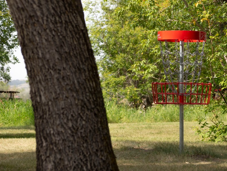 Disc Golf Buffalo Pound Provincial Park