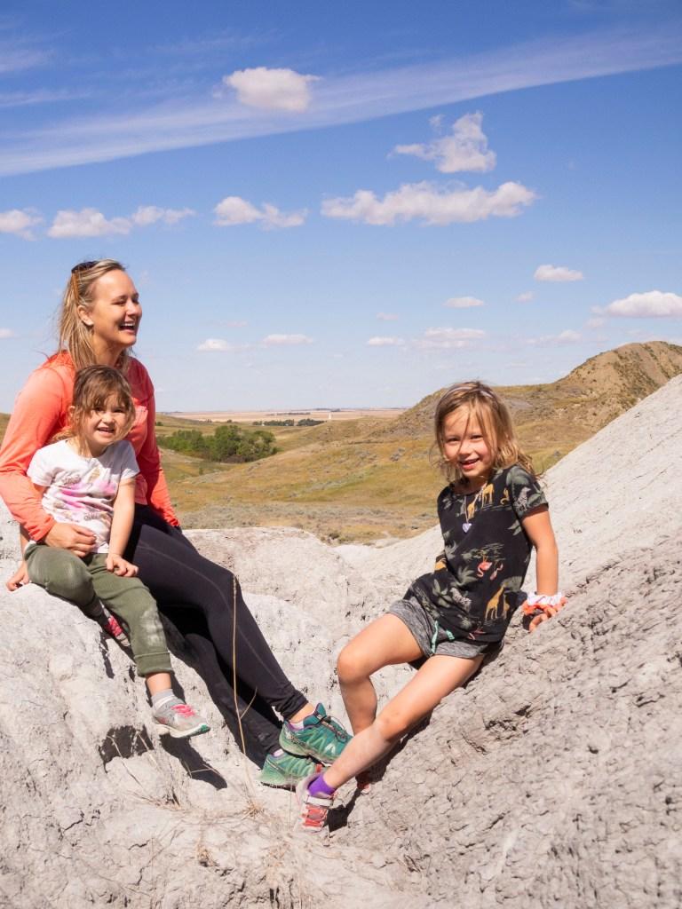 Massold Canyon Family Hike Saskatchewan
