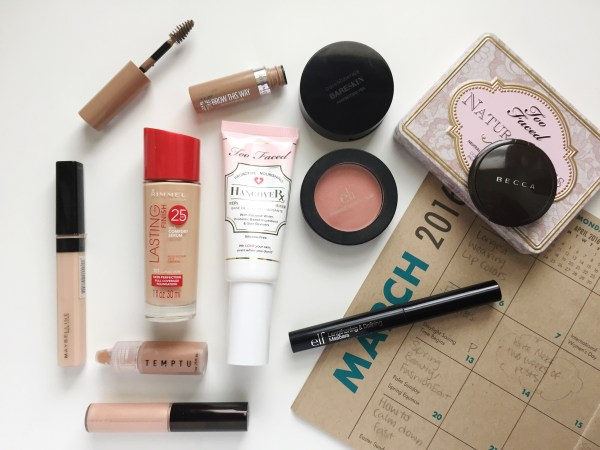 March Monthly Makeup | Born To Be Bright