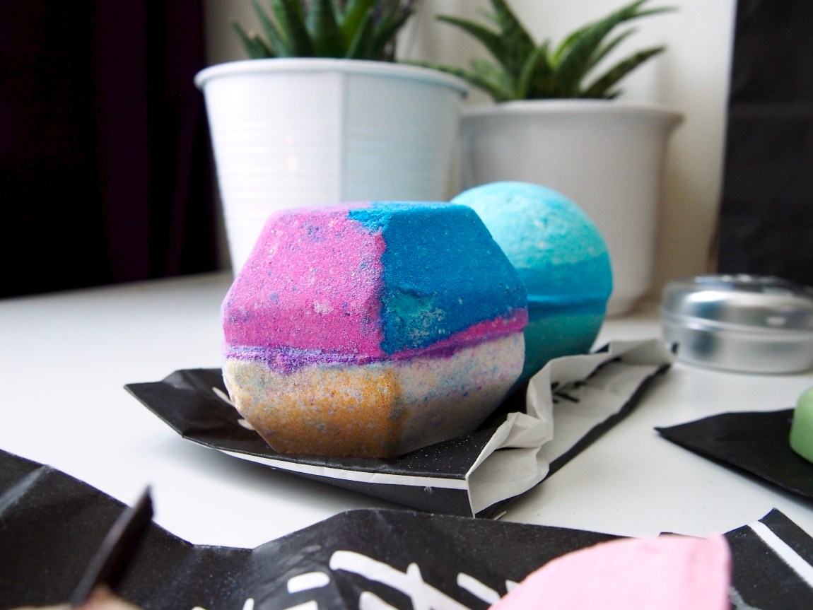 A Lush Haul - The Experimenter Bath Bomb