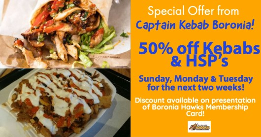 Captain Kebab Offer