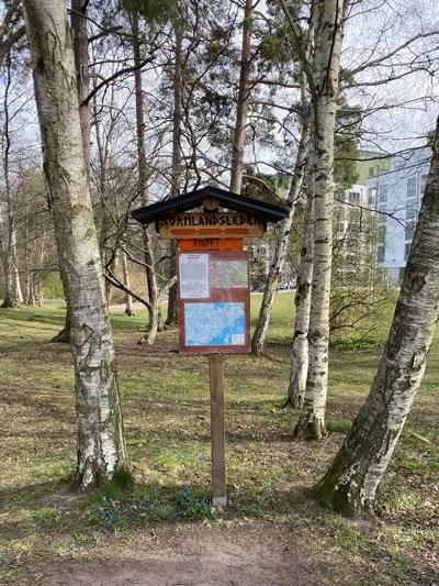 Sörmlandsleden etapp 2, Skogshyddan – Alby friluftsgård, 6,5