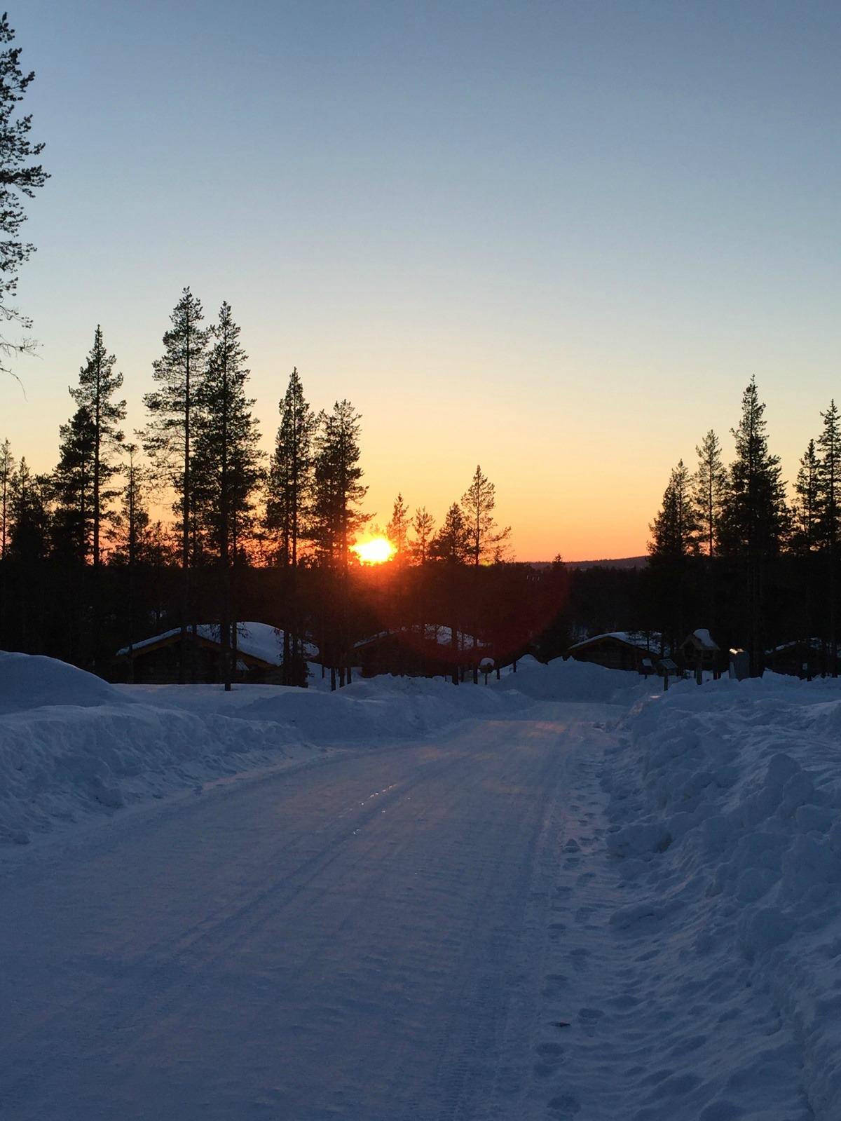 Finland Igloos Northern Lights