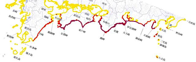 P1b 海岸の津波高3m以上(編集加工) - 「正しく怖れることはむずかしい」―だから…