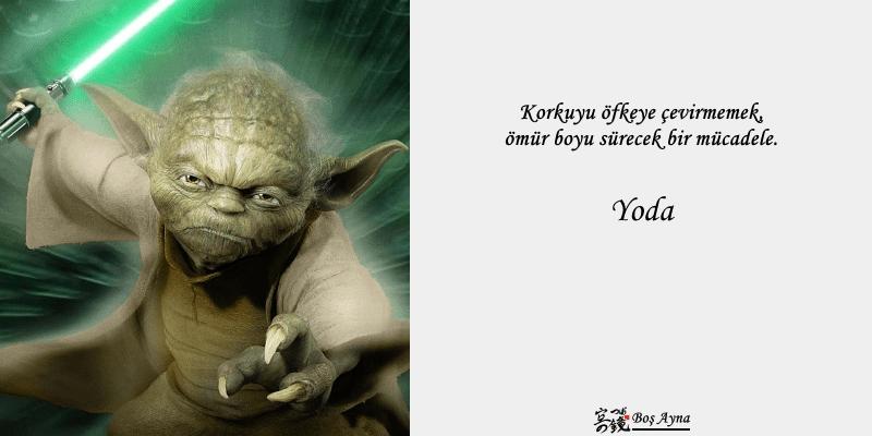 Jedi Master Yoda 13  Star Wars Boş Ayna Not Defteri