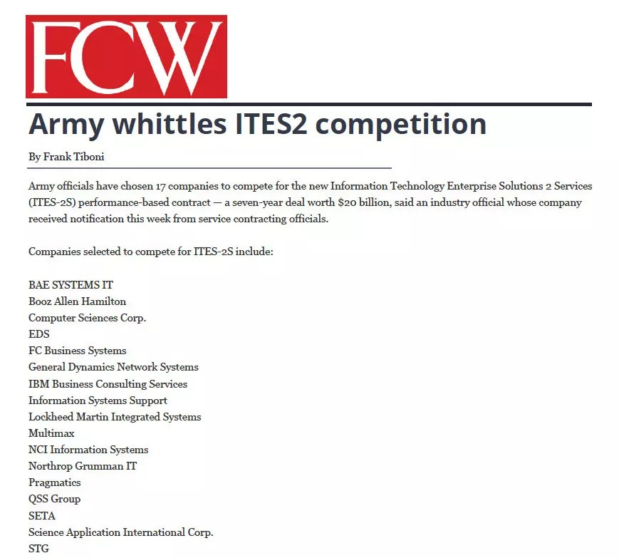 STG - FCW Reprint