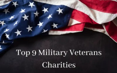 Donating with a Purpose: Top 9 Military Veterans Charities
