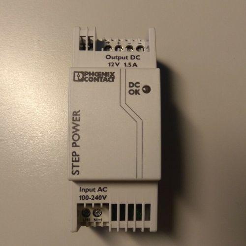 Alimentatore Phoenix Contact STEP-PS/ 1AC/12DC/1.5 – 2868567