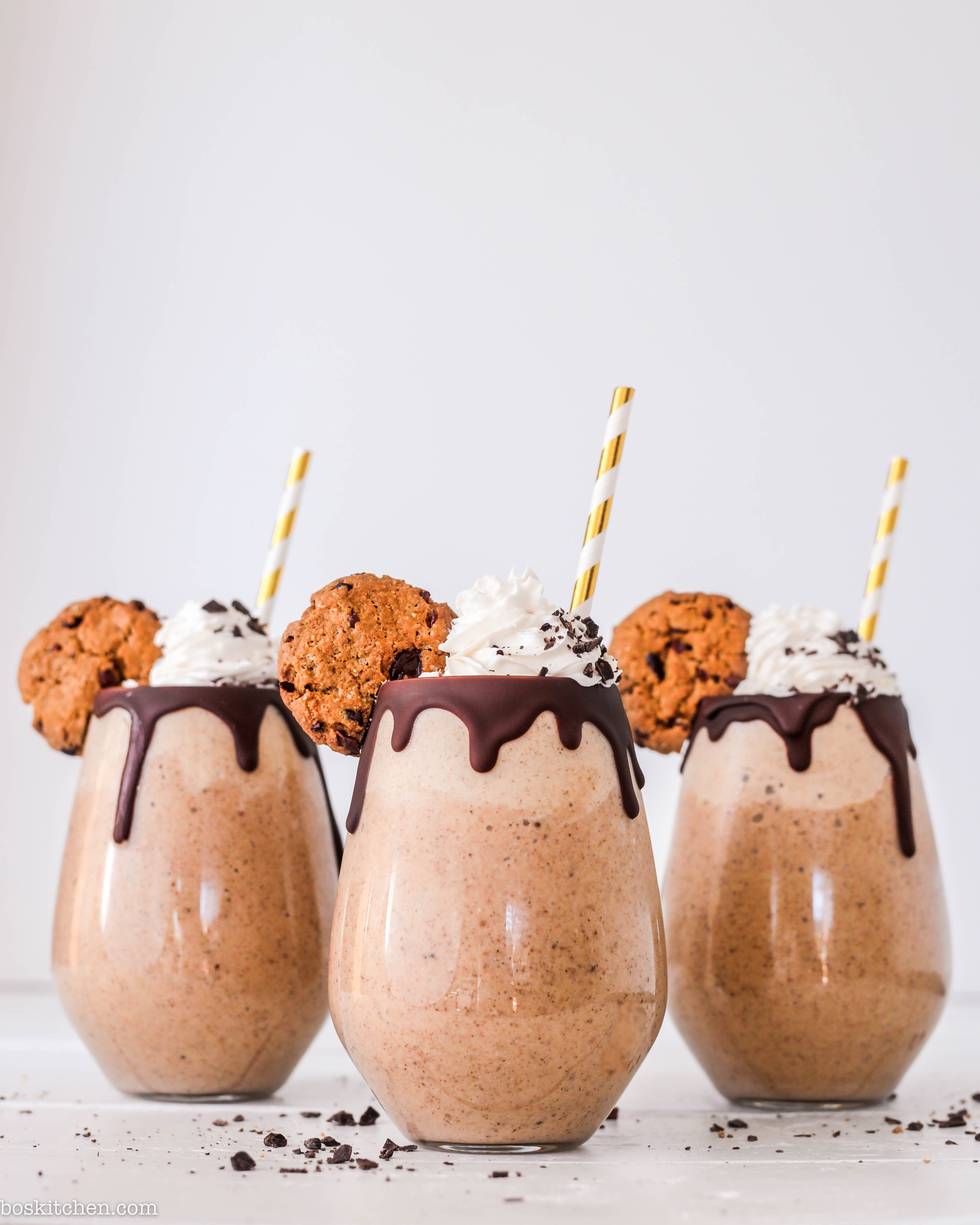 cookie dough milkshake