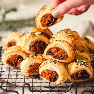 veggie sausage rolls